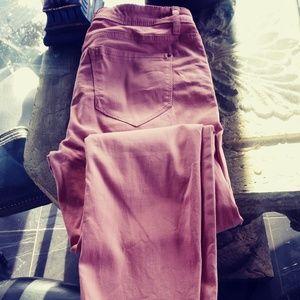 Pink Kensie Jeans Ankle Mid-rise sz 6/28 skinny